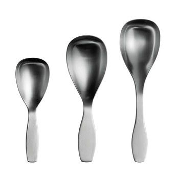 iittala - Aktionsset Collective Tools Servierlöffel - edelstahl/3 Servierlöffel