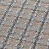 GAN - Garden Layers Checks Teppich 180x240cm - blau/Handwebstuhl