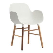 Normann Copenhagen - Form Armchair Frame Walnut