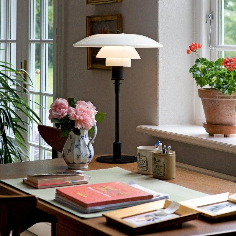 ph 3 2 tischleuchte louis poulsen. Black Bedroom Furniture Sets. Home Design Ideas