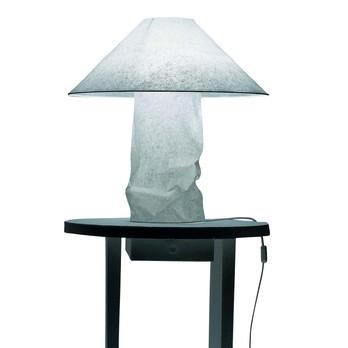 Ingo Maurer - Lampampe Tischleuchte - weiß/Papier