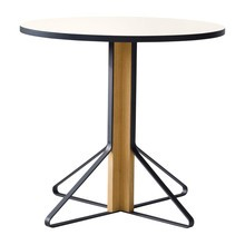 Artek - Kaari REB003 Table Clear Lacquered Oak Ø80cm