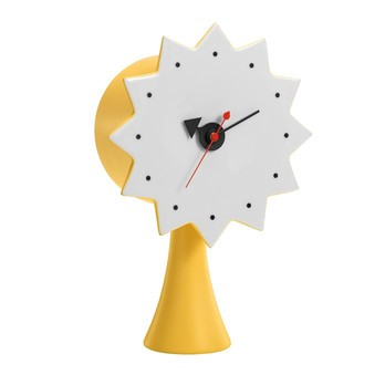 Vitra - Ceramic Clock Uhr #2 - gelb/Quarz-Uhrwerk