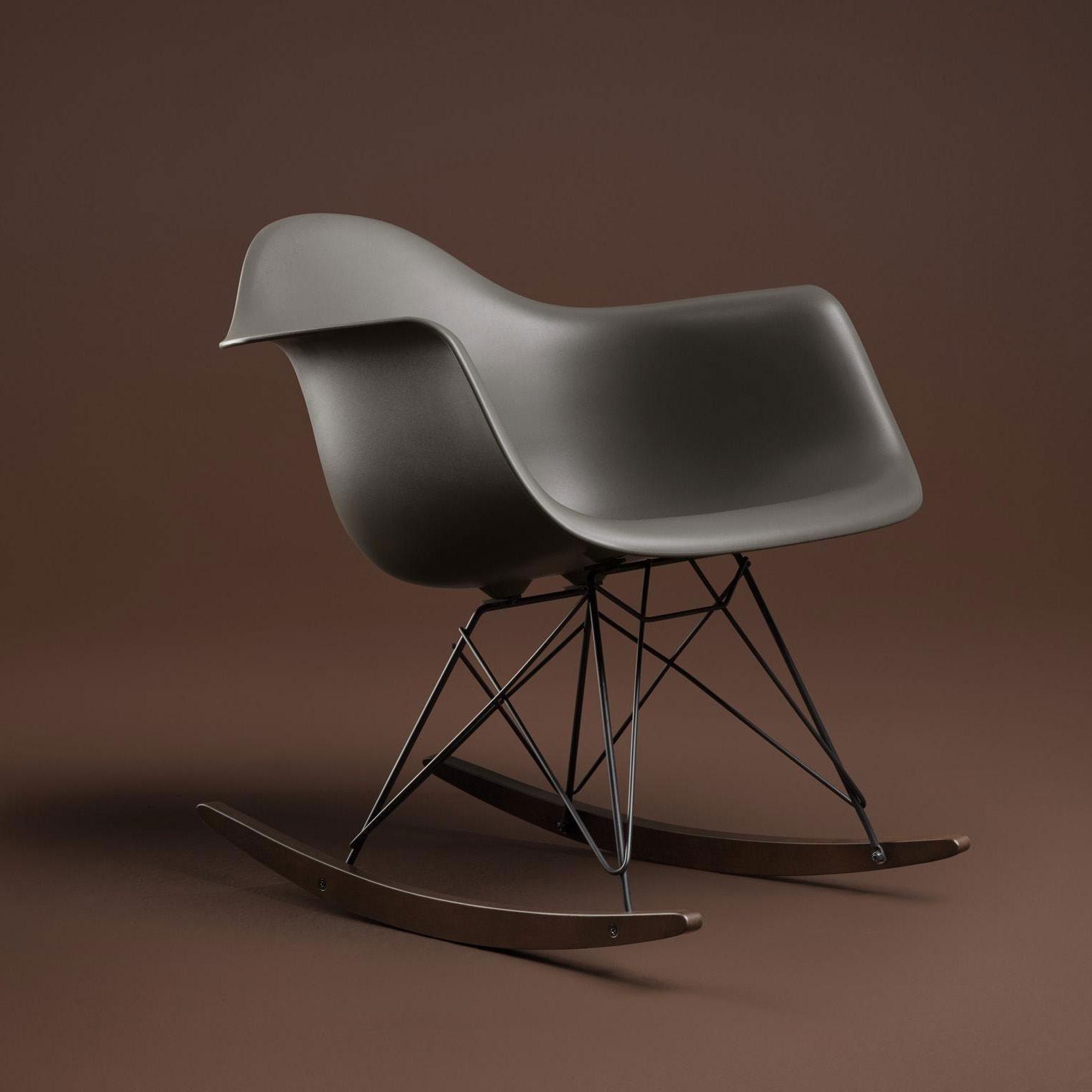 ... Vitra   Eames Plastic Armchair RAR Rocking Chair ...
