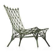 Cappellini - Knotted Chair - sand/carbon