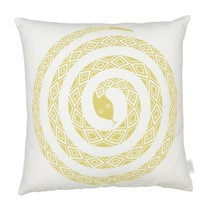 Vitra - Graphic Print Pillow Snake Kissen 40x40cm