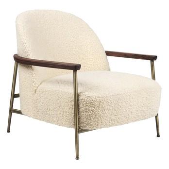 Gubi - Sejour Lounge Chair mit Armlehnen