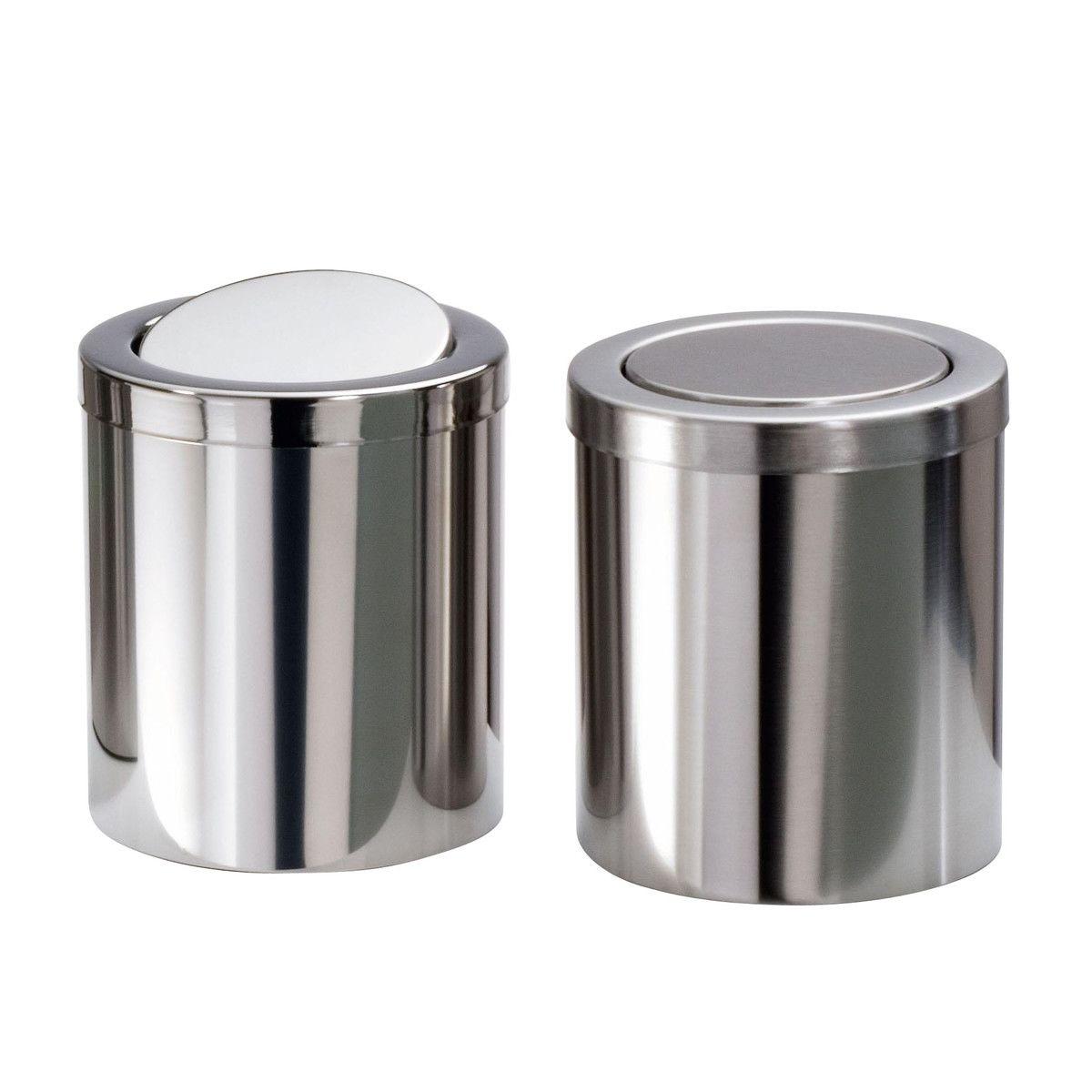 Dw 1240 poubelle de table decor walther - Poubelle de table design ...