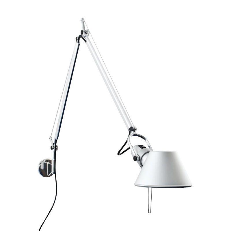 Wonderful Artemide   Tolomeo Parete Fluo Wall Lamp   Aluminium/aluminium/including  Dark ...