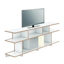 Tojo - Stell TV Lowboard with LED Lamp 198x37.5x68cm