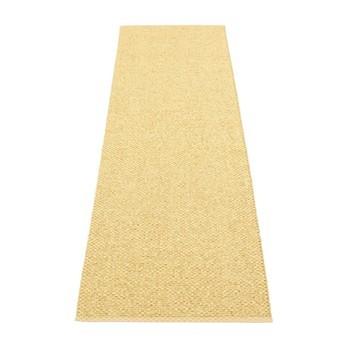 pappelina - Svea Teppich 70x240cm - gold metallic/hellgelb