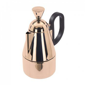 Tom Dixon - Brew Stove Top Kaffeebereiter - kupfer/gebürstet/H 19.7cm/Ø 9.4cm