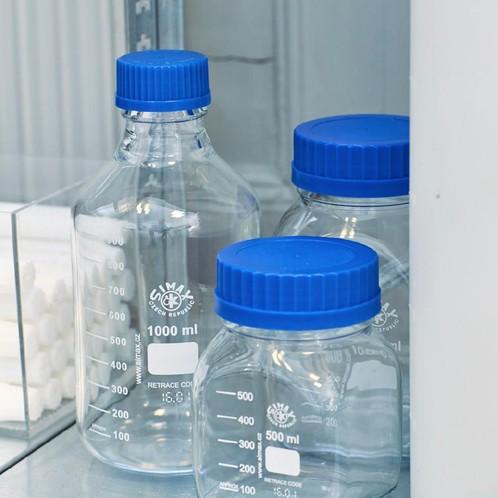 HAY - HAY Kitchen Market Glasbehälter mit Messskala