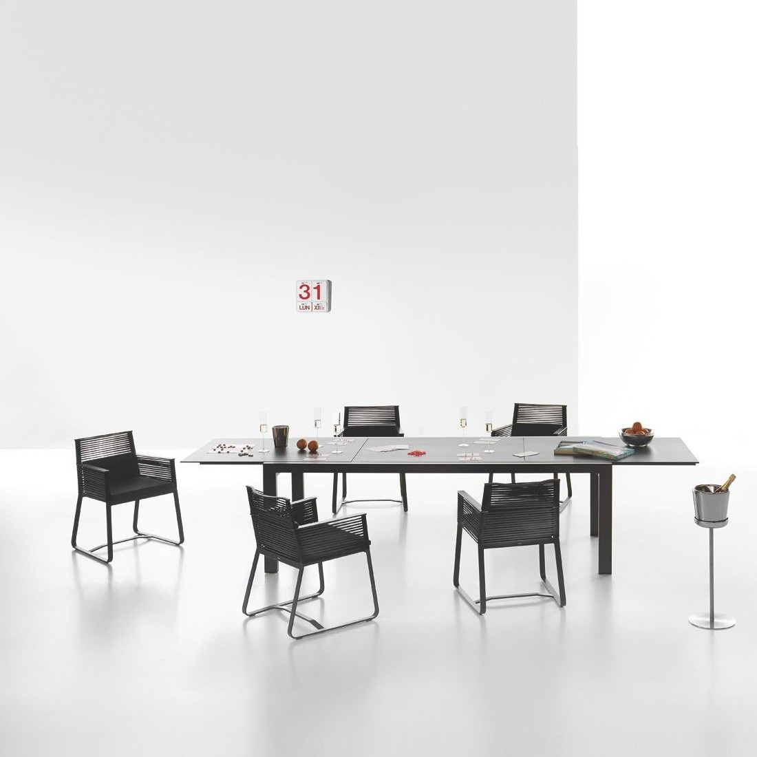 Kettal Landscape - Table/ Table de Jardin extensible | AmbienteDirect