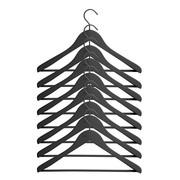 HAY - Soft Coat Wide Kleiderbügel mit Stange 8tlg.