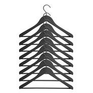HAY - Soft Coat Kleiderbügel mit Stange Set 8-teilig