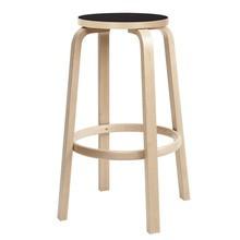 Artek - 64 Bar Chair Clear Lacquered Base 75cm