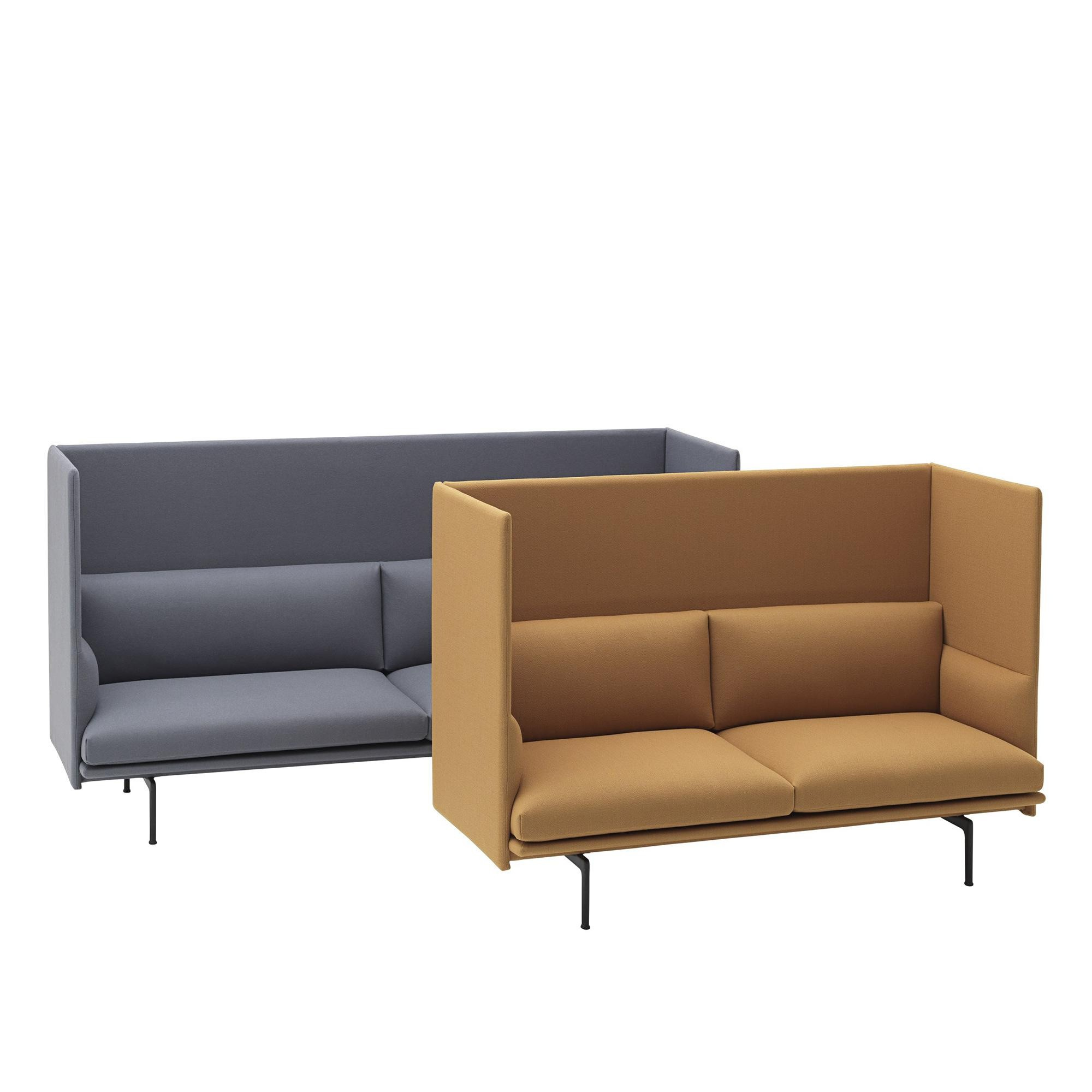 Outline Highback Sofa 2-Seater