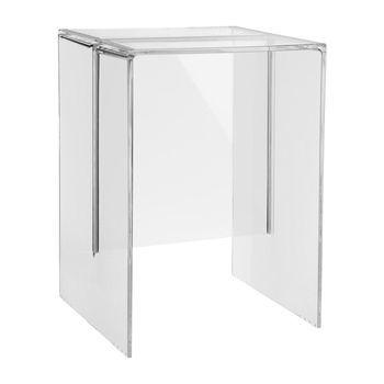 Kartell - Max-Beam Hocker/Beistelltisch - transparent