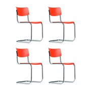 Thonet - Action S 43 Cantilever Chair Set of 4