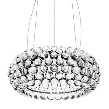 Foscarini - Caboche Media LED Pendelleuchte - transparent/3000K/3062 lm/H 20cm/ Ø 50cm