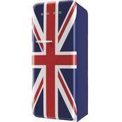 Smeg - FAB28 Standkühlschrank Union Jack - dunkelblau/Motiv Union Jack/lackiert/Rechtsanschlag