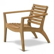 Skagerak - Regatta Lounge Gartenstuhl - Teak