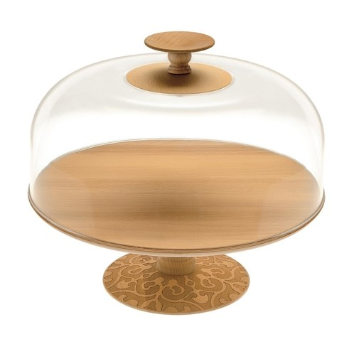 Alessi - Dressed in Wood Abdeckhaube/Deckel