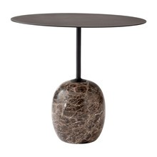 &tradition - Lato LN9 - Table d'appoint ovale