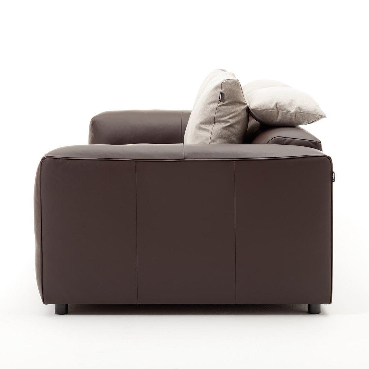 freistil 187 canap de cuir 3 places freistil rolf benz. Black Bedroom Furniture Sets. Home Design Ideas