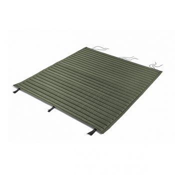 HAY - Palissade Steppkissen 124x115.5cm - olivgrün/wasserabweisend/für Palissade Lounge Sofa