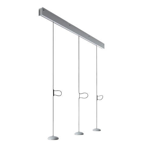 Anta - Jose LED Pendelleuchte - weiß/glänzend/2700K