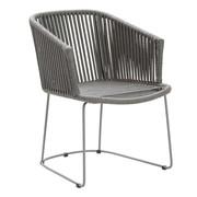 Cane-Line - Chaise avec accoudoirs Moments structure luge