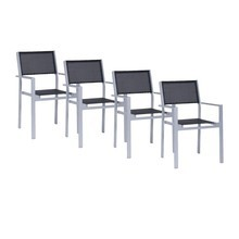 Jan Kurtz - Cubic Garden Armchair Set of 4