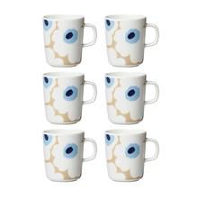 Marimekko - Oiva/Unikko Mug Set of 6