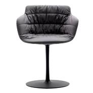 MDF Italia - Flow Armchair With Central Leg