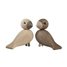 Kay Bojesen Denmark - Wooden Figurines Lovebirds