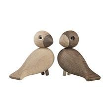 Kay Bojesen Denmark - Figurines en bois Les tourtereaux