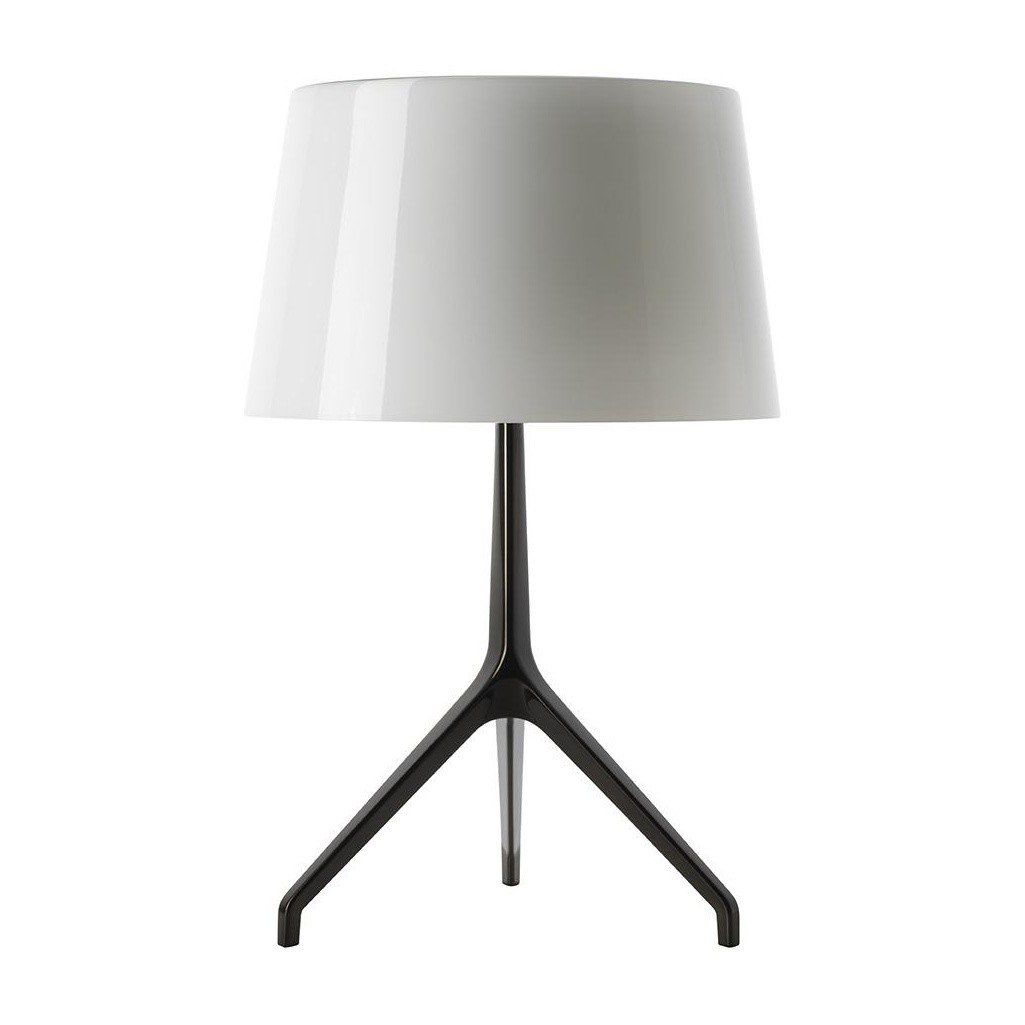 lumiere xxl chrome lampe de table foscarini. Black Bedroom Furniture Sets. Home Design Ideas