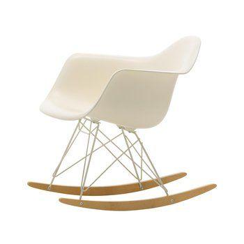 Vitra - Eames Plastic Armchair RAR Special Edition - creme/Sitzschale Polypropylen/Gestell Farbe elfenbein/Kufe Ahorn gelblich/Limitierte Edition 2017