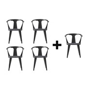 &tradition - Aktionsset 4+1 In Between Chair SK2