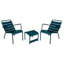 Fermob - Fermob Luxembourg Set Sessel + Beistelltisch