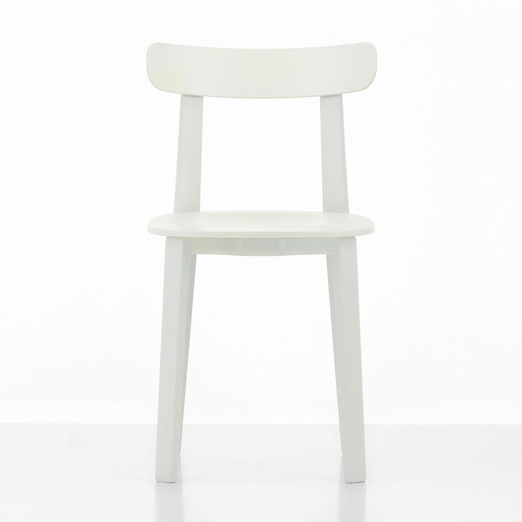 Vitra Stuhl Jasper Morrison All Plastic Chair Farbe braun für außen /& innen TOP