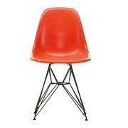 Vitra - Eames Fiberglass Side Chair DSR Gestell schwarz