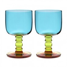 Marimekko - Sukat Makkaralla Wine Glasses Set of 2