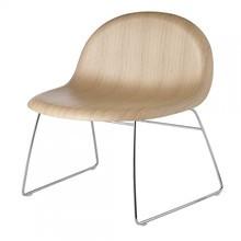 Gubi - Gubi 3D Lounge Chair Sessel mit Kufengestell