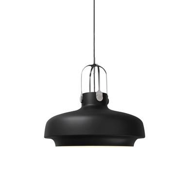 &tradition - Copenhagen Pendant SC8 Pendelleuchte - schwarz/matt/Ø 60cm