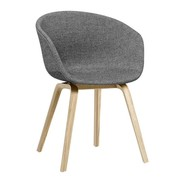 HAY - AAC 23 Armchair Upholstered Soaped Oak