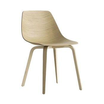 - Miunn S164 Stuhl - eiche gebleicht