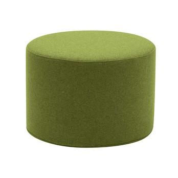 Softline - Drum Hocker / Beistelltisch S - hellgrün/Stoff Felt 855/H 30cm / Ø 45cm
